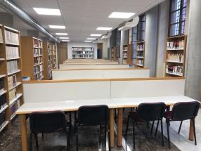 imSala De Vistas Y Biblioteca En El Campus De La Merced. Umu