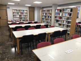 Sala De Vistas Y Biblioteca En El Campus De La Merced. Umu